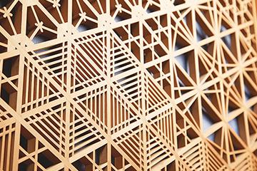 Kishu Koya Kumiko wood joinery