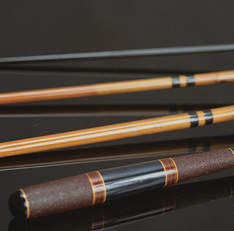 Kishu bamboo fishing rods