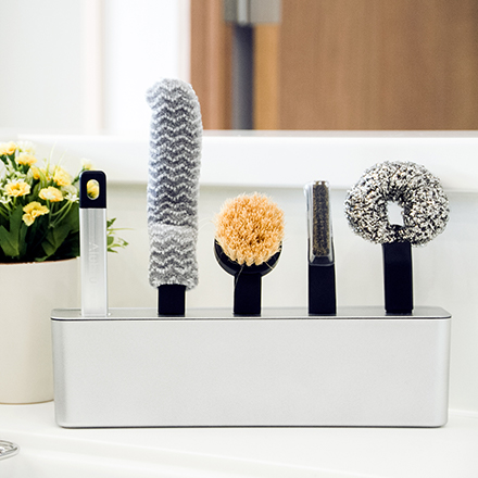 Alubru Kitchen Brush Set -Urushi-
